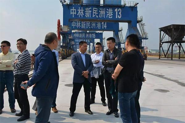 title='宁波港、青岛港领导一行莅临中林时代控股有限公司'